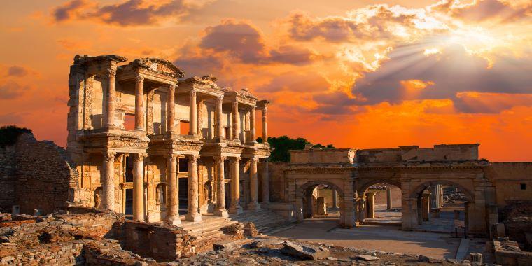>The Ancient  City Ephesus:
